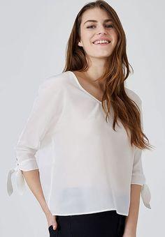 HALLHUBER блузка - белый - Zalando.de