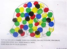 "Maestra Mariangela: PROGETTO ACCOGLIENZA "" ELMER L'ELEFANTE VARIOPINTO"" Elmer The Elephants, School, Party, Elephants, Lab"