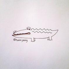 """O ilustrador canadense Hyemi Jeong, baseado em Toronto, está se divertindo com pequenos objetos do cotidiano ao criar ilustrações divertidas e """"fofas""""."""