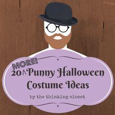 20 MORE Punny Halloween Costume Ideas via thinkingcloset.com