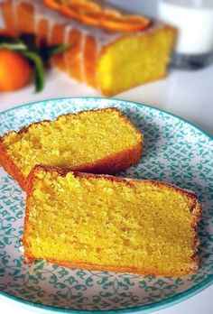 Plumcake ai mandarini (senza burro) - Imprastando Vegan Cake, Vegan Desserts, Tortilla Sana, Coffee And Walnut Cake, Vegan Gains, Plum Cake, Almond Cakes, Gluten Free Cakes, Sweet Cakes