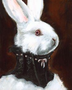 haute couture rabbit