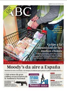 La portada de ABC del 17 de octubre