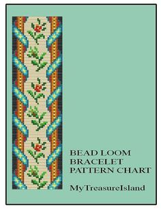 For sale is Bead Loom Vintage Sajou 5 Motif Pattern in PDF format. For this design I used Miyuki Delica seed beads in size 11. By using the full