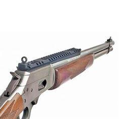 XS Sight Systems, Inc. - Product Detail - Lever Rail Ghost Ring - Marlin 1894 - Sights and Rail / Round Barrel Models - Integral Ramp Front . Weapons Guns, Guns And Ammo, Marlin 1895, Gun Vault, Lever Action Rifles, Firearms, Shotguns, Hand Guns, Barrel