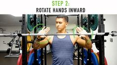 How to Perform the Overhead Press for Bigger Shoulders: 5 Easy Fixes Big Shoulders, Slide Bar, Overhead Press, Easy, Workouts, Work Outs, Excercise, Workout Exercises, Fitness Exercises