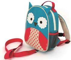 Plecaki dla młodszych dzieci z serii Baby Zoo mają smycze bezpieczeństwa.