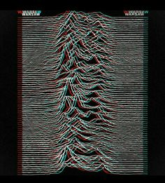 'Unknown Pleasures' by Joy Division.