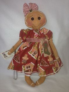 Gingerbread girl pattern from cathyraggedy