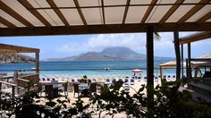 View From Our Lunch Table at Spice Mill, St. Kitts