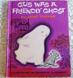 Gus was a Friendly Ghost 1962 Weekly Reader by naturegirl22, $7.75