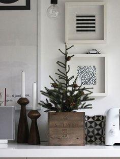Kleine kerstboom zonder poespas | ELLE