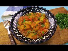 Mancare de cartofi de post. Mici secrete pentru a o face gustoasa. - YouTube Ratatouille, Supe, Make It Yourself, Cooking, Ethnic Recipes, Food, Youtube, Baking Center, Kochen