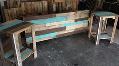 DIY Hand-built Pallet Bed With Headboard | 99 Pallets