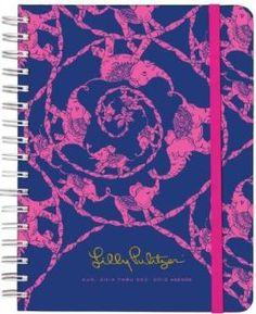 2015 Lilly Pulitzer Large Agenda, Loopy Lilly Agenda Calendar