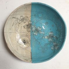 Diana Fayt Large Shallow Bowl, via Flickr.
