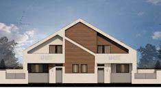 Proiecte de case duplex moderne: confort cu buget redus Design Case, Home Fashion, Outdoor Structures, Cabin, House Styles, Home Decor, Decoration Home, Room Decor, Cabins