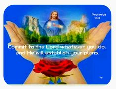Proverbs 16, Lord, How To Plan