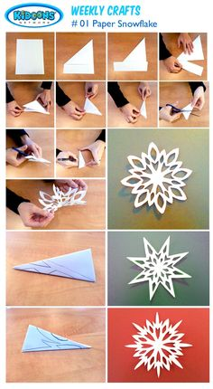 Fun for kids: creating paper snowflakes! Try the p - Paper Flower Backdrop Wedding Fun for kids: creating paper snowflakes! Try the patterns or make your own desi…. Fun for kids: creating paper snowflakes! Paper Snowflake Designs, Paper Snowflake Template, Paper Quilling Designs, Origami Templates, Box Templates, Snowflake Origami, Snowflake Craft, Printable Templates, Winter Crafts For Kids