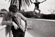 Rag & Bone Spring Summer 2014 Mens Campaign by Glen Luchford | FashionMention