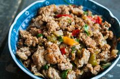 Mom's Ground Turkey and Peppers Recipe | SimplyRecipes.com