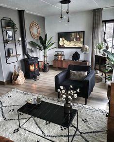 Boho Living Room, Home And Living, Living Room Decor, Bedroom Decor, Living Room Inspiration, Home Decor Inspiration, Design Inspiration, My New Room, Apartment Living