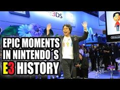 Epic Moments in Nintendo's E3 History (1995-2013) - YouTube