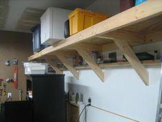 Garage shelves
