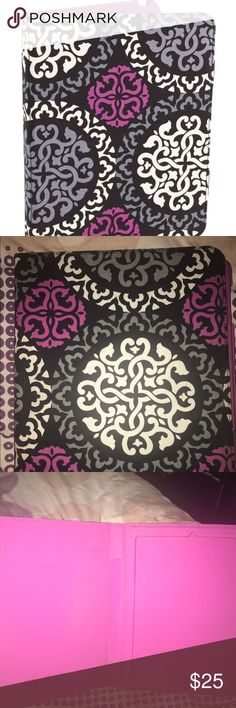 """Canterbury magenta Vera Bradley iPad case Retired Canterbury magenta pattern Vera Bradley iPad case. 9.7"""" iPad. Does show some wear on edges and back is kind of dirty Vera Bradley Accessories Tablet Cases"""