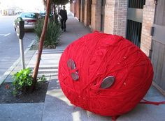 Lost in ball of wool