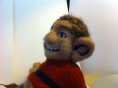 Mulberry Silk, Wool Coat, Troll, Needle Felting, Merino Wool, Teddy Bear, Big, Animals, Animales