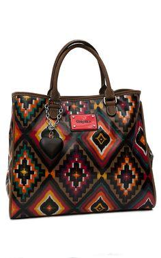 Consuela® Couture Sedona Multi Aztec Carry All Bag