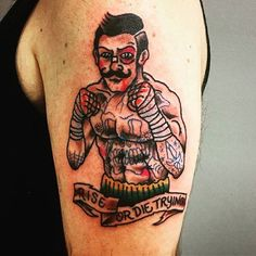Rise or Die trying-Daniel Tickner Vessel tattoo co. Syracuse NY - Old School Traditional Tattoo Gorilla, Traditional Heart Tattoos, Traditional Tattoo Old School, Traditional Tattoo Design, Black Ink Tattoos, Body Art Tattoos, Hand Tattoos, Cowgirl Tattoos, Gangster Tattoos