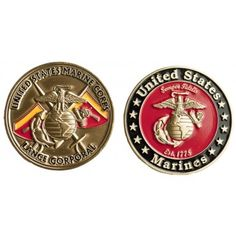 Lance Corporal Coin | Sgt Grit - Marine Corps Store
