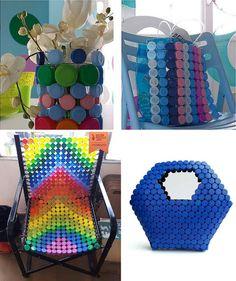 Creare oggetti con i tappi di plastica   Il Fai Da Te #faidate