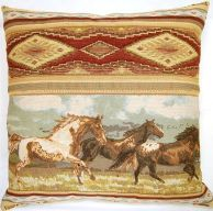 Liberty's Ride 26 x 26 Throw Pillows by Creative Home Furnishings from Kellsson Home Linens.