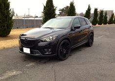 Blacked out Mazda CX 5