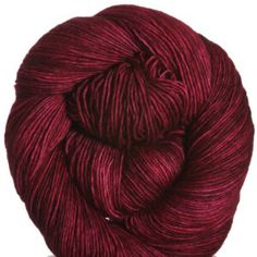 Madelinetosh Tosh Merino Light Yarn - Vermillion
