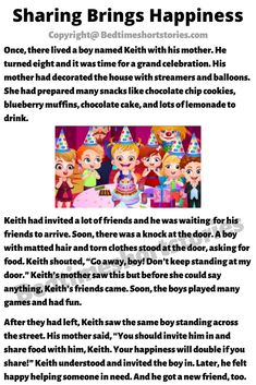 This is an amazing moral story for kids. Full story in link above, read now. English Stories For Kids, Children Stories, Moral Stories For Kids, Short Stories For Kids, English Story, Kids Story Books, English Class, English Lessons, English Grammar