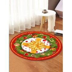 twinkledeals Christmas Tree And Fireplace, Christmas Rugs, Christmas Tree Pattern, Christmas Tree With Gifts, Christmas Ribbon, Christmas Crafts, Stair Stickers, Fleece Patterns, Candles In Fireplace