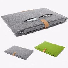 """Felt Sleeve Laptop Case Cover Bag for Apple MacBook Air Pro11"""" 12"""" 13"""" 15""""-in Laptop Bags & Cases from Computer & Office on Aliexpress.com 