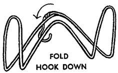 wire hanger book holder