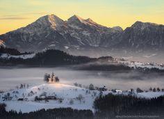 Photograph First light by Aleš Komovec on 500px