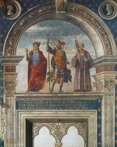Domenico Ghirlandaio, Decius Mus, Scipio Africanus, Cicero, 1482-83, Florence, Palazzo Vecchio (Sala dei Gigli)