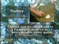 Repair Stains in Marble With a DIY Homemade Poultice