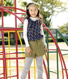 Ravelry: Kids' Cabled Shorts pattern by Pierrot (Gosyo Co., Ltd)