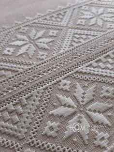 Hardanger Embroidery, Beaded Embroidery, Embroidery Designs, Diy Crafts Hacks, Bargello, Textiles, Elsa, Folk, Blanket