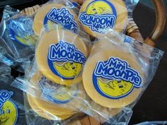 "Heck yes! Mini moon pie wedding favors to go along with our ""I love you to the moon and back"" theme. Plus, duh, I'm from the South."