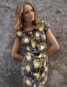 Have this dress too. Love it. Machine washable silk? Yes!!!