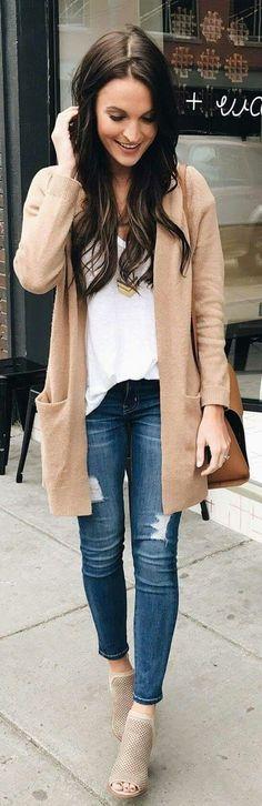 Bonito outfit para otoño.